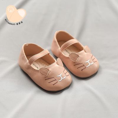 女宝宝鞋子公主鞋0一1-3岁春秋软底婴儿小皮鞋小童单鞋女童学步鞋