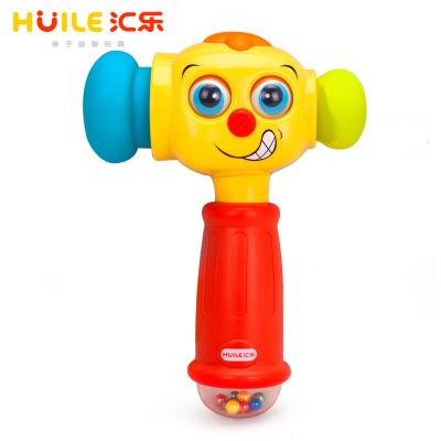 匯樂玩具(HUILE TOYS)逗樂變幻錘 767 寶寶打地鼠敲打玩具音樂大號