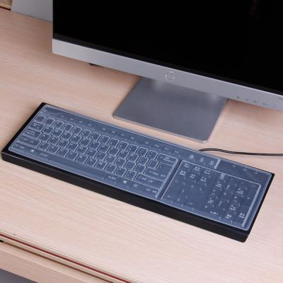 臺式鍵盤膜 貼紙通用型 鍵盤貼 墊子透明 聯想宏基戴爾惠普 機械鍵盤套 電腦通用 臺式機保護套貼膜