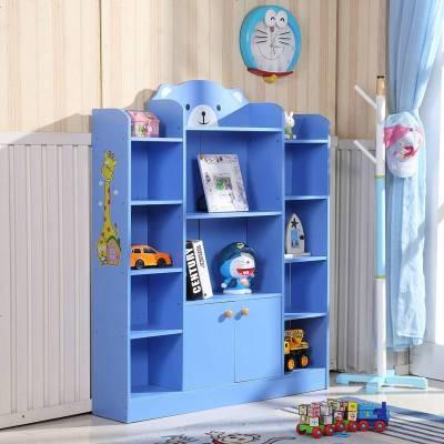 兒童書架落地書柜簡易小學生幼兒園收納置物架簡約現代家用省空間