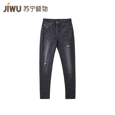 JIWU брэндийн эмэгтэй jeans-н өмд уранхай загварын хар 27