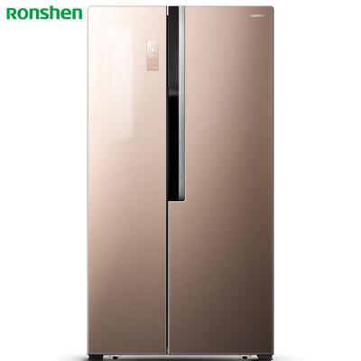 Ronshen/容聲BCD-589WD12HP 589升對開門雙門電冰箱 一級能效 智能變頻 抗菌凈味 彩晶玻璃