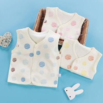 【純棉】嬰兒馬甲新生兒背心薄款坎肩男女寶寶小馬夾開衫夏季外穿 娜蜜雨(NAMIYU)