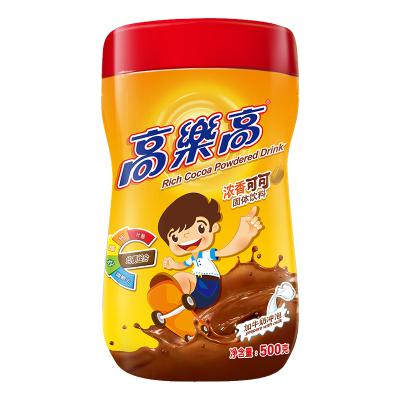 高樂高可可粉固體飲料coco粉熱巧克力粉營養早餐粉沖飲品罐裝500g