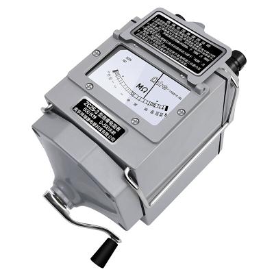 祥瑞德 兆欧表摇表 绝缘电阻测试仪测量仪电工电阻表 ZC25B-4铝壳1000V/1000M