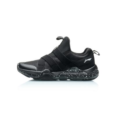 李寧童鞋運動鞋男大童7-12歲輕便青少年男士低幫運動鞋