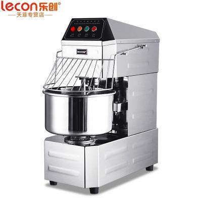 乐创(lecon) 和面机商用 30升双动双速和面机全自动 厨师机打蛋器面点机商用和面机鲜奶机搅拌机