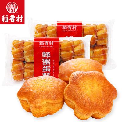 稻香村蜂蜜蛋糕330g*2盒營養早餐雞蛋糕糕點零食