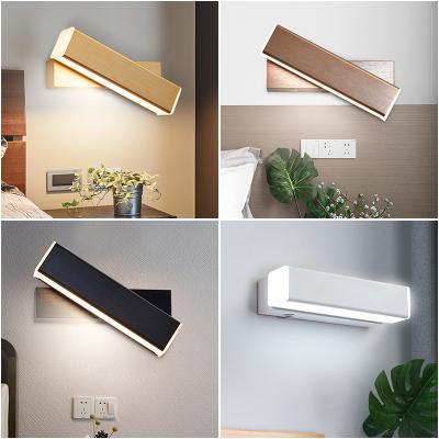 品拓(PINTUO)个性北欧创意led壁灯床头灯卧室客厅壁灯书房餐厅灯过道灯走廊灯具