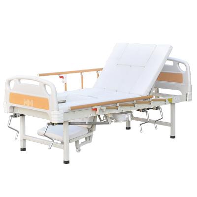 護理床老人家用癱瘓病人多功能可搖床翻身醫用病床