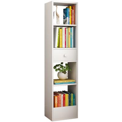 学生书架落地书架木制书架简约客厅收纳架儿童小书柜卧室简易桌上面置物架学生省空间