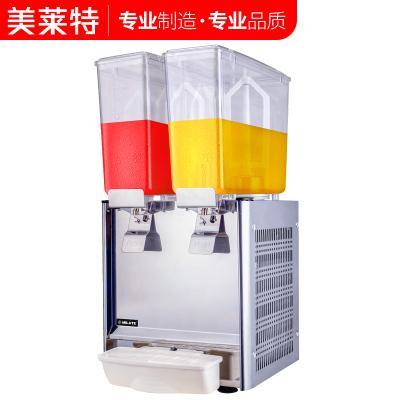 美萊特雙缸冷飲機單冷飲料機商用果汁機攪拌機自助餐廳噴淋飲料機
