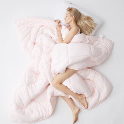 加厚保暖棉被子春秋被冬被芯學生宿舍單人空調被褥四季通用 150x200cm(4斤)春秋被 浪漫之