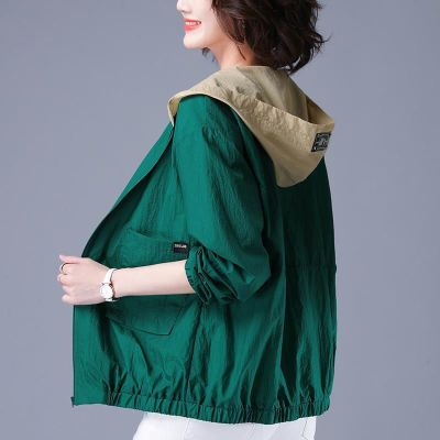 芷臻zhizhen防曬衣女2020年夏季新款韓版防曬服網紅薄款百搭短款外套長袖上衣女士夾克
