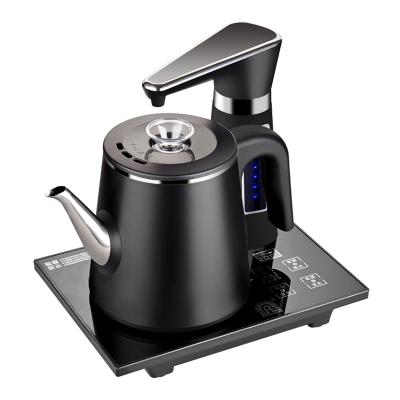 容聲全自動智能上水壺 燒水只需三分鐘家用電茶爐304不銹鋼燒水壺抽水壺電熱觸摸式電熱水壺保溫壺 雙層防燙款
