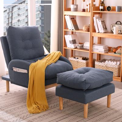 唐臻懶人沙發單人小沙發椅子靠背榻榻米躺椅陽臺家用休閑椅臥室懶人椅