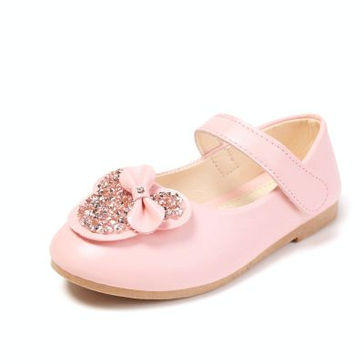 女童皮鞋公主鞋春秋2020新款軟底兒童單鞋韓版小女孩學生表演鞋潮 纖婗(QIANNI)