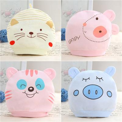搭啵兔儿双耳帽婴儿胎帽纯棉保暖宝宝卡通睡眠帽儿童全棉初生儿童帽