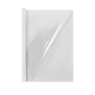 优玛仕8mm热熔封套办公热熔书本装订塑料封套A4胶状透明封面纸张封面耗材配件白