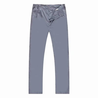 LS-1865拼色工作服短袖套裝 褲子