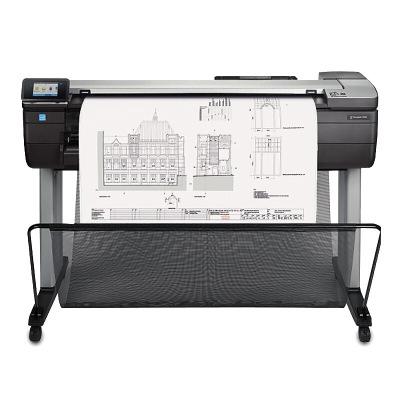 惠普HP DesignJet T830 A0 大幅面打印机 多功能一体机 914毫米 (F9A30B) 36英寸绘图仪