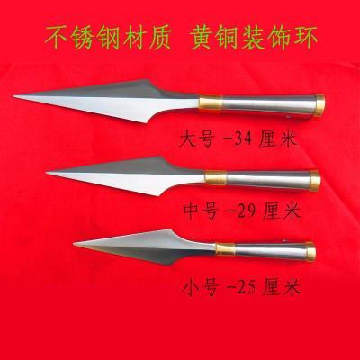 因樂思(YINLESI)QT001不銹鋼傳統武術紅纓頭大中小號特價武術頭