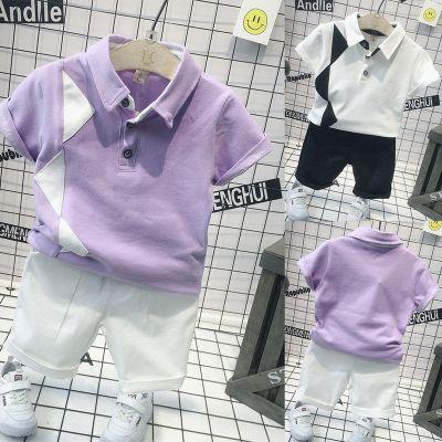 童裝男童翻領短袖T恤2020夏季新款韓版兒童棉polo衫寶寶半袖潮莎丞(SHACHEN)
