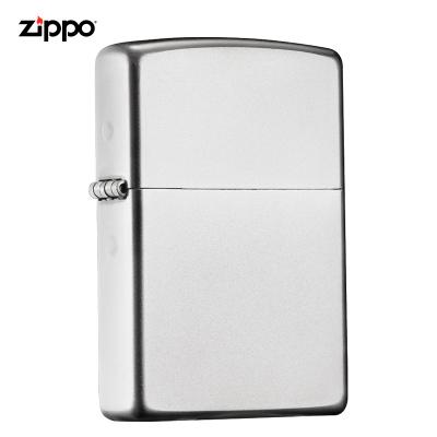 zippo之宝打火机美国原装ZIPPO防风煤油打火机205缎纱205-042585