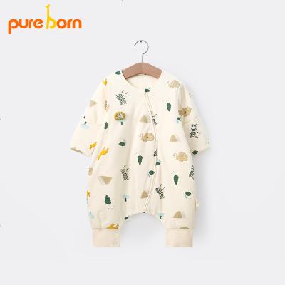 婴幼儿宝宝保暖睡袋儿童被子秋装夹棉加厚分腿式防踢被子