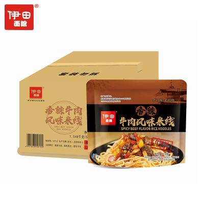 伊田面館 米線 香辣牛肉風味米粉米線 速食方便食品516g*3袋
