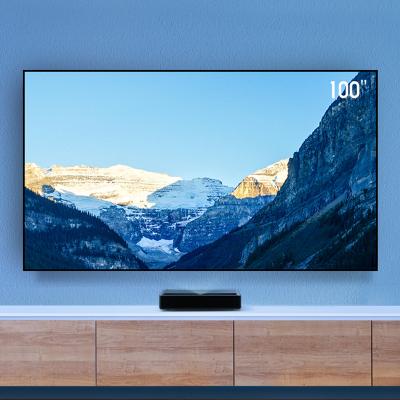 【調試】小米 米家激光投影儀4K套裝投影電視150英寸家用短焦5000流明抗光屏+100英寸專用抗光屏 套裝