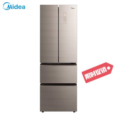 【99新】美的BCD-325WTGPM 325升智能冰箱 雙門 對開門變頻風冷無霜 多門電冰箱除味 凌波金