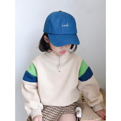 熱賣送挎包兒童帽子春秋寶寶鴨舌帽棒球帽男童女童夏季遮陽防曬帽子潮