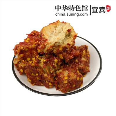 四川宜賓特產豆腐乳下飯菜腐乳胡二娃沙河麻辣紅豆腐200g