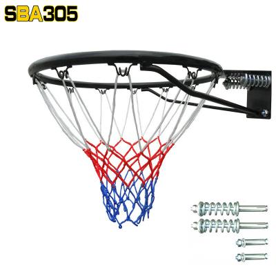 成人戶外籃球筐架家用標準籃筐配三色帶安裝螺釘籃圈