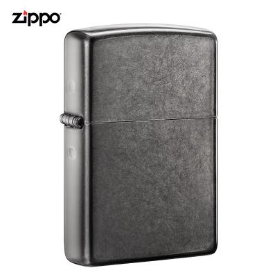 zippo打火机美国原装ZIPPO打火机极地灰冰之宝打火机28378-043513