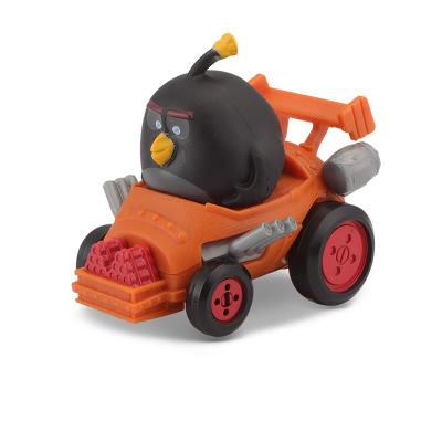 美驰图正版愤怒的小鸟儿童回力玩具小车电影同款愤怒鸟宝宝玩具车