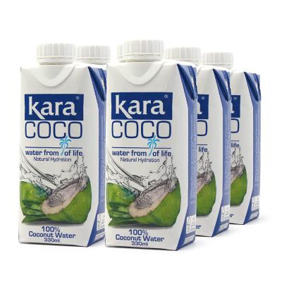 印尼進口Kara(佳樂)椰子水 330ml*6瓶裝