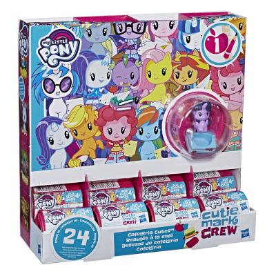 孩之宝Hasbro小马宝莉卡通动漫模型系列 3岁以上女孩儿童生日礼物塑料模型人偶玩具 Q版寻宝装5.1*5.1*6.4