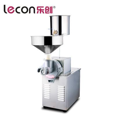 lecon/乐创洋博 磨米浆机现磨磨浆机肠粉米浆机豆浆机商用电动石磨磨米机130型落地式