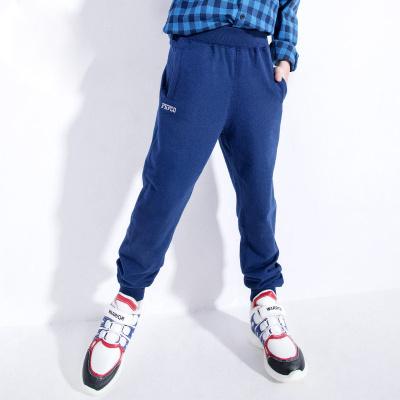 小豬班納童裝男童褲子春秋裝新款兒童運動褲中大童長褲