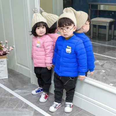 兒童秋冬新款運動棉內膽男女童輕薄保暖棉服嬰幼兒棉服外套0-6歲 莎丞