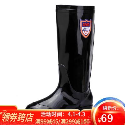 3515強人男士雨鞋雨靴 男士中筒時尚防水潮鞋戶外膠鞋套鞋