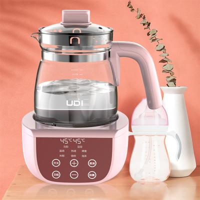 UDI恒温调奶器冲奶器温奶器自动暖奶器婴儿冲奶粉玻璃热水壶1200ML