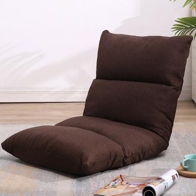 懶人沙發榻榻米單人小沙發床上靠背椅網紅款簡易休閑日式折疊椅子