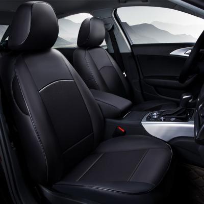 D.mor 汽車座套專車專用360全包圍座椅套奧迪大眾別克福特雪佛蘭雪鐵龍邁騰速騰帕薩特高爾夫君威君越寶來 l全黑色