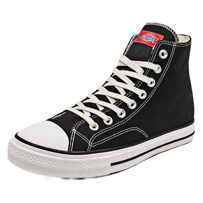 Dickies帆布鞋加绒高帮冬季新款保暖棉鞋韩版板鞋情侣百搭潮鞋193M50LXS25M