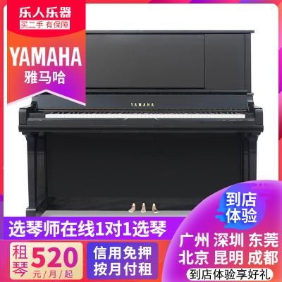 日本YAMAHA雅马哈二手钢琴UX30BL家用立式演奏雅马哈