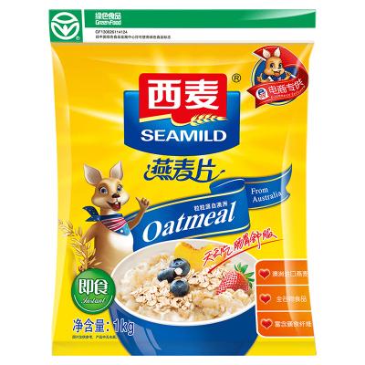西麦(SEAMILD)早餐谷物 即食燕麦片1kg/袋