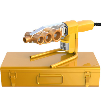 电子恒温热熔器 PPR水管热熔机塑焊机黎卫士焊接设备合接器热容器 32标准款+模头+专业剪